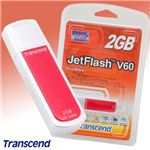 Transcend USB ���꡼ JetFlash V60 2GB