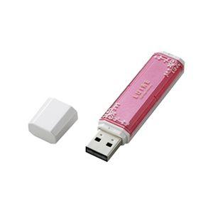 ELECOM USBメモリー8GB MF-NWU208 キャンディピンク