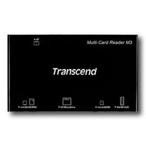 Transcend 2GB micro SDカード+マルチカードリーダーセット ブラック