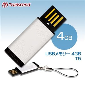 Transcend USBメモリー 4GB T5 の詳細をみる