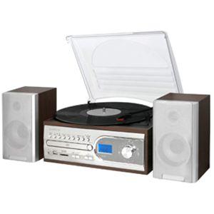 exemode CD・レコード・SD・USB・FM/AMマルチコンポ ER-250