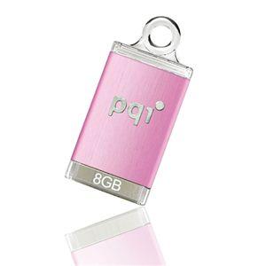 pqi USBメモリーストラップ 8GB ピンク