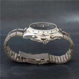写真撮影対応 クロノ調 腕時計型ビデオカメラ VIDEO CAMERA WATCH メタルバンド