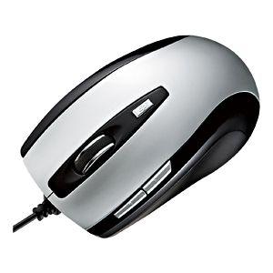 サンワサプライ 5ボタンレーザーマウス MA-LS15S 4セット