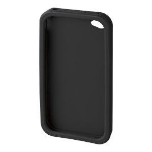 サンワサプライ iPhone4用シリコンケース(ブラック) PDA-IPH66BK 8セット
