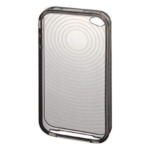 サンワサプライ iPhone4用TPUセミハードケース(ブラック) PDA-IPH67BK 5セット