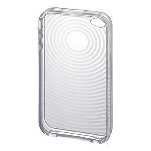 サンワサプライ iPhone4用TPUセミハードケース(クリア) PDA-IPH67CL 5セット