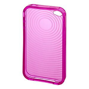 サンワサプライ iPhone4用TPUセミハードケース(ピンク) PDA-IPH67P 5セット