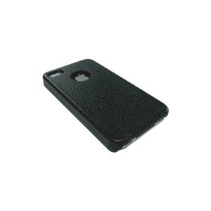 icover iPhone4用ケース REAL COW LEATHER AS-IP4LE-BK ブラック (フルセット)