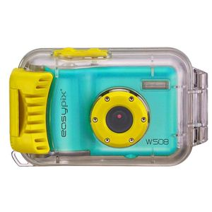 Easypix(イージーピックス) 防水ハウジング装備 500万画素デジタルカメラ Starfish(スターフィッシュ) W508-BLU