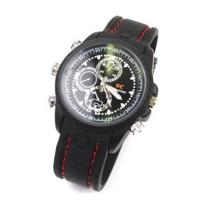 サンコー 動作検知付防水VIDEO CAMERA Analog Watch VICAWMD4
