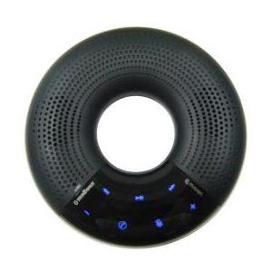 エスエンピーネット Bluetoothスピーカー SOUND DONUT サウンドーナツ ブラック EM-SDB