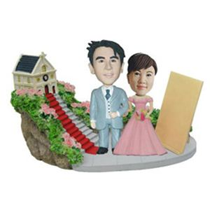 WooBic 人形 ふたり&家族バージョン Bタイプ 結婚式 J4-3B/J4-1G/TB
