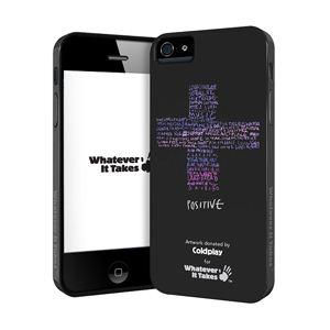 princeton iPhone 5用プレミアムジェルシェルケース (Coldplay/ブラック) WAS-IP5-GCP02