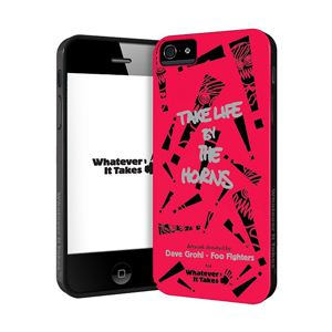 princeton iPhone 5用プレミアムジェルシェルケース (Dave Grohl - Foo Fighters WAS-IP5-GDG01