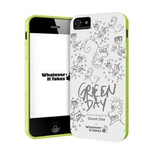princeton iPhone 5用プレミアムジェルシェルケース (Green Day) WAS-IP5-GGD01