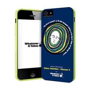 princeton iPhone 5用プレミアムジェルシェルケース (James Valentine - Maroon 5) WAS-IP5-GJV01