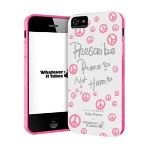 princeton iPhone 5用プレミアムジェルシェルケース (Katey Perry/ホワイト) WAS-IP5-GKP03