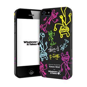 princeton iPhone 5用プレミアムジェルシェルケース (Kanye West) WAS-IP5-GKW02