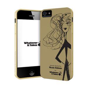 princeton iPhone 5用プレミアムジェルシェルケース (Nicole Kidman) WAS-IP5-GNK01