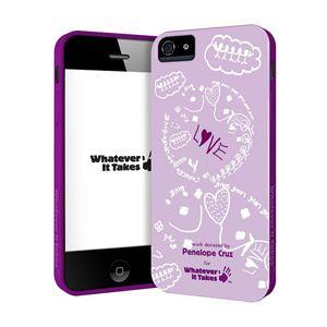 princeton iPhone 5用プレミアムジェルシェルケース (Penelope Cruz) WAS-IP5-GPC01