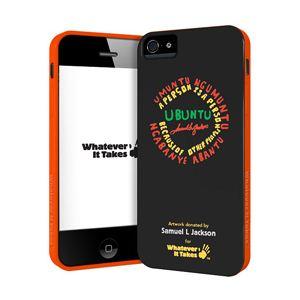 princeton iPhone 5用プレミアムジェルシェルケース (Samuel L Jackson) WAS-IP5-GSJ01