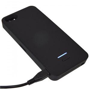 サンコー iPhone5用バッテリージャケット(ブラック) USIP5BT1