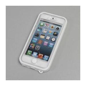 サンコー AQUAスリムケース(ホワイト) for iPhone5 ELP51WHT