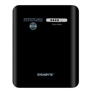 GIGABYTE モバイルバッテリー G1BBシリーズ 12000mAh ブラック GZ-G1BB0