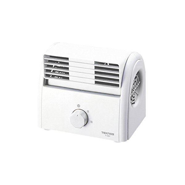 TEKNOS 卓上扇風機 デスクファン ホワイト TI-2001