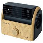 TEKNOS 卓上扇風機 デスクファン ナチュラルブラウン TI-3100