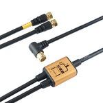 (まとめ)HORIC アンテナ分波器 ケーブル一体型 2m/50cm ゴールド AP-SP023GD【×5セット】の詳細ページへ