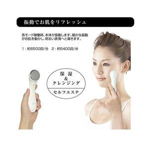 (まとめ)マクロス イオン導入導出美顔器 ウフールイオナーレ MEBL-19【×5セット】
