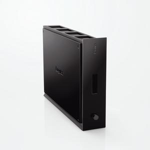 USB2.0 パスワードロック&冷却システム搭載 外付型HDD 1TB