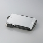Logitec(ロジテック) IEEE1394&USB 2.0 アルミボディ&耐衝撃ポータブルHDD 320GB(シルバー) LHD-PBF320FU2SV
