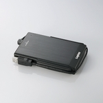 Logitec(ロジテック) USB2.0 アルミボディ&耐衝撃ポータブルHDD 250GB(ブラック) LHD-PBF250U2BK