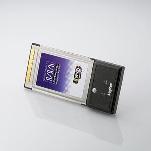 Logitec(ロジテック) IEEE802.11n(Draft)/g/b準拠 CardBus用 無線LANカード LAN-WN23-CB