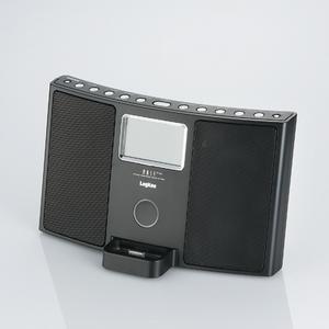 Logitec(ロジテック) FM/AMチューナー搭載 iPod Dock対応Hi-Fiサウンドシステム(ブラック) LDS-RI710BK