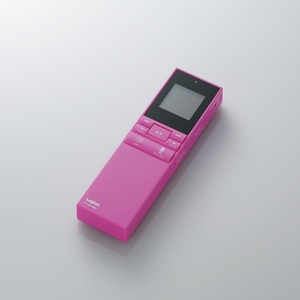 Logitec(ロジテック) microSD対応ICレコーダー microSD/2GB付属(ピンク) LIC-SR500M02PN