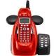 ユニデン ディズニーキャラクターコードレス留守番電話機(ディズニー着信音)UCT-012R メタリックレッド  写真2