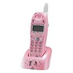 ユニデン ディズニーキャラクターコードレス電話増設子機(ディズニー着信音)UCT-012HS-P パールピンク