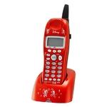 ユニデン ディズニーキャラクターコードレス電話増設子機(ディズニー着信音)UCT-012HS-R メタリックレッド