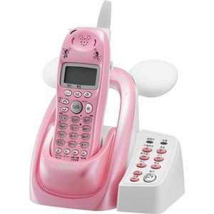 ユニデン ディズニーキャラクターデジタルコードレス留守番電話機セット UCT-012P2-P パールピンク