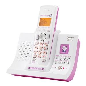 ユニデン ハローキティデジタルコードレス留守番電話機 UCT-005-P ピンク