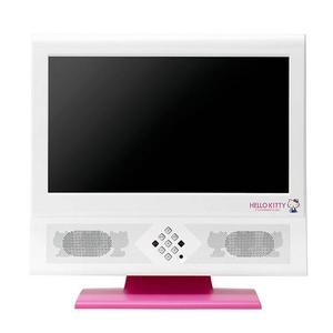 ユニデン HELLO KITTY ハローキティ 19V型地上デジタルハイビジョン液晶テレビ TL19TX1-R ブラック/レッド