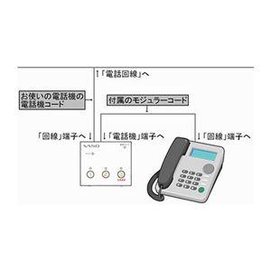 防犯用電話アダプター VT-090