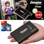 ビデオカメラ用外付バッテリー Energizer XP4000C
