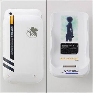 エヴァンゲリヲン iPhone3G(S)専用筐体保護型蓄電器 REIモデル