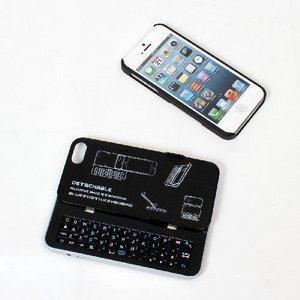サンコー 着脱&自立機能搭載iPhone5用キーボードカバー ATSTKCF5