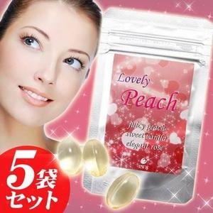 ラブリー・ピーチ/Lovely Peach 5袋セット
